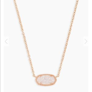 Kendra Scott Elisa Rose Gold Necklace